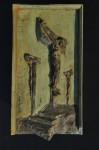 Regious Art Relief, Sculpture, Crucifixion, Richard Pumphrey