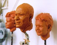 Portrait Sculpture, Richard Pumphrey