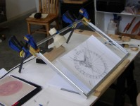"Columbarium Medallion Relief Sculpture Designing ""Dove of the Holy Spirit"", Richard Pumphrey"