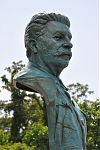 National D-Day Memorial, Joseph Stalin, Stalin portrait, bronze portrait, Richard Pumphrey