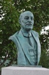 National D-Day Memorial, CLEMENT ATTLEE, bronze portrait, Richard Pumphrey,